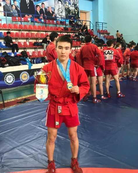 Ренат Жилкышбаев стал призером Кубка Казахстана по спортивному и боевому самбо