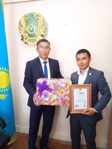 Вожатый КСШ №1 Азамат Ермекпаев успешно справился с работой